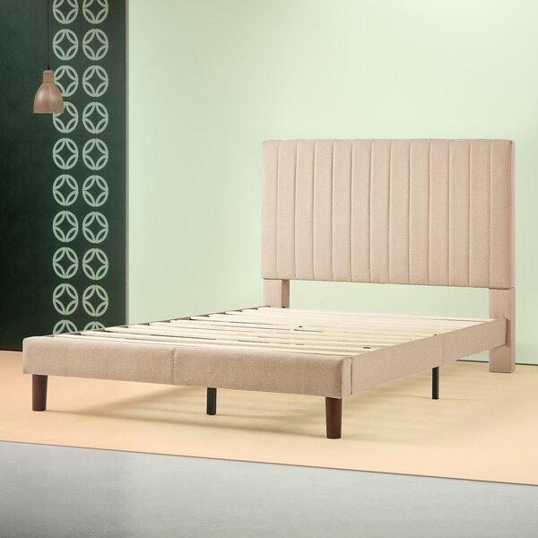 Debi Upholstered Platform Bed by House of Hampton