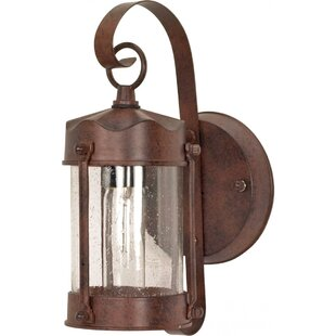 Bargain Socotrine 1-Light Outdoor Sconce By August Grove