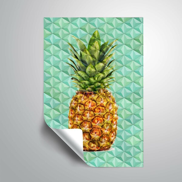 Stoller Modern Pineapple 5 Wall Mural by Bay Isle Home