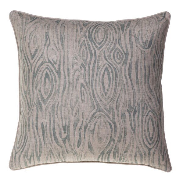 Woodgrain Throw Pillow by 14 Karat Home Inc.