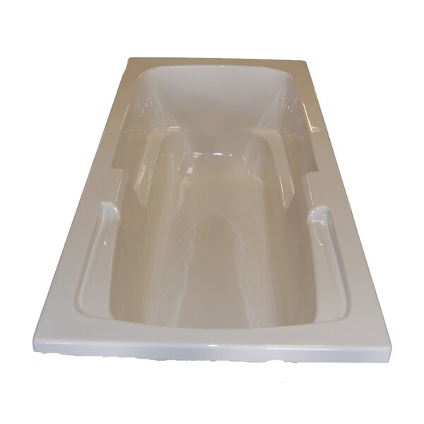 60 x 32 Arm-Rest Salon Spa Air/Whirlpool Tub by American Acrylic