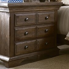 Copenhagen 3 Drawer Nightstand by Progressive Furniture Inc.