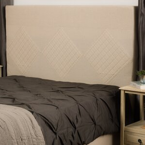 Robinette Upholstered Panel Headboard by Darby Home Co