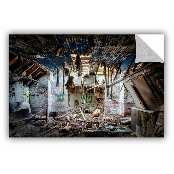 Michael Beach Time Takes Over Wall Decal by ArtWall