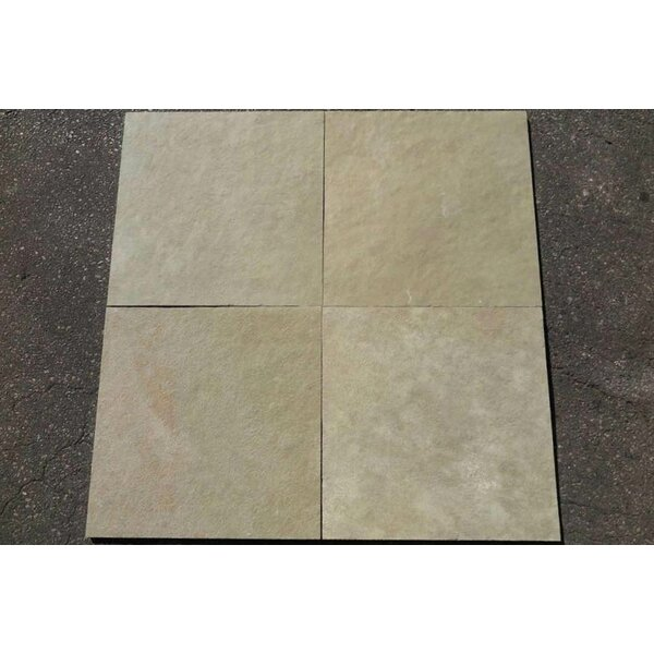 Kota Brown Natural Cleft Face & Back 12x12 Limestone Field Tile