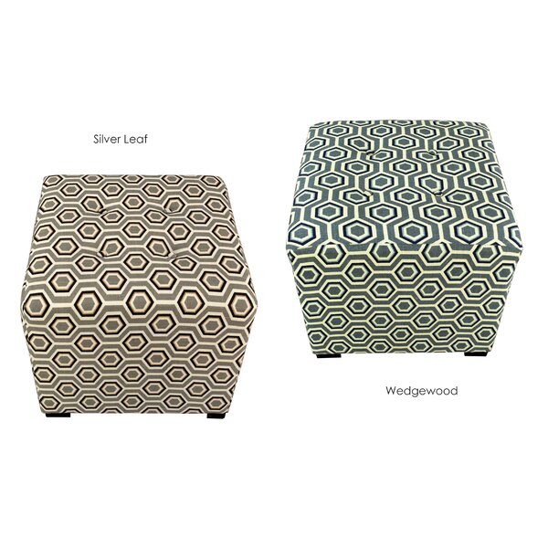 Emerie Tufted Cube Ottoman By Winston Porter 2019 Coupon