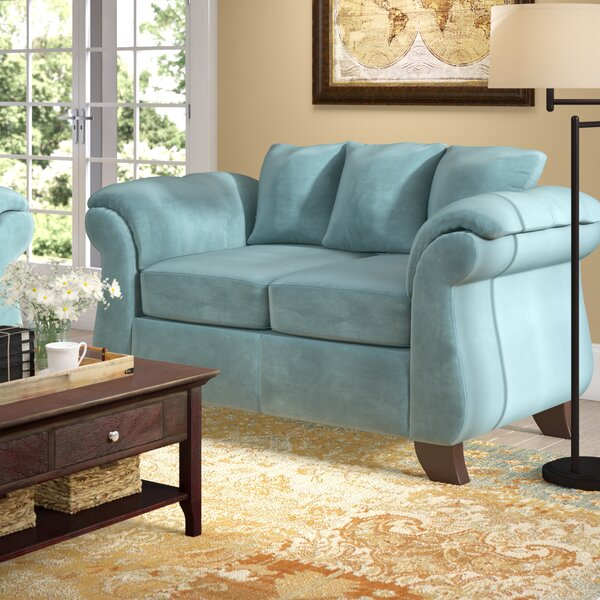 We Have A Fabulous Range Of Saltzman Loveseat by Winston Porter by Winston Porter