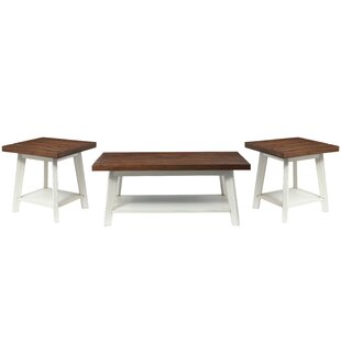 Funke 3 Piece Coffee Table Set by August Grove