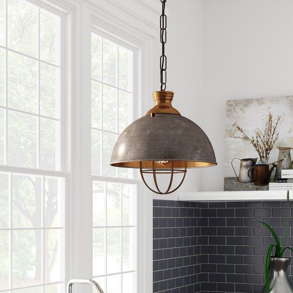 Olathe 1-Light Bowl Pendant by Laurel Foundry Modern Farmhouse