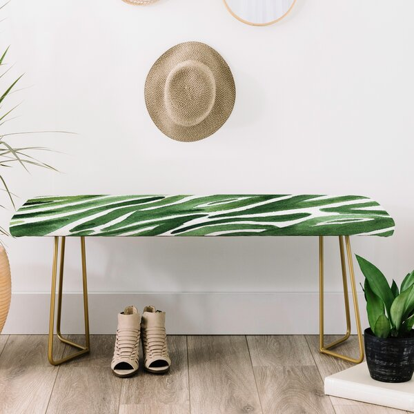 Elena Blanco Faux Leather Bench by East Urban Home East Urban Home