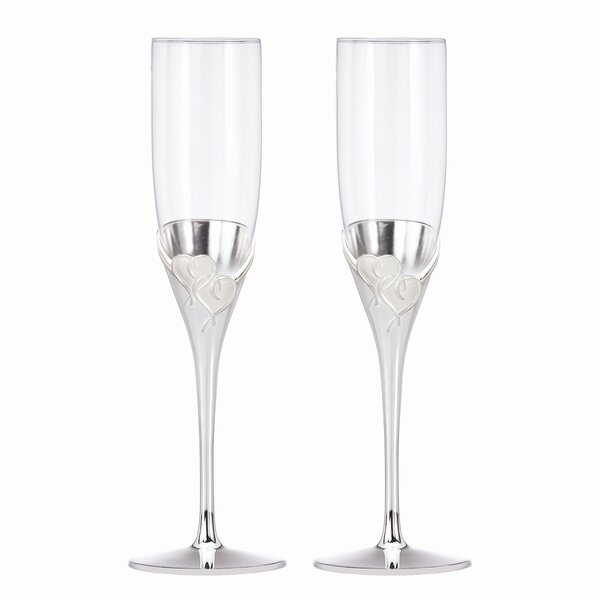 True Love Champagne Flute (Set of 2) by Lenox