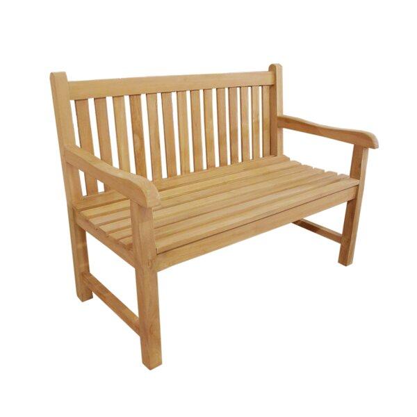 Garcia Teak Garden Bench by Canora Grey