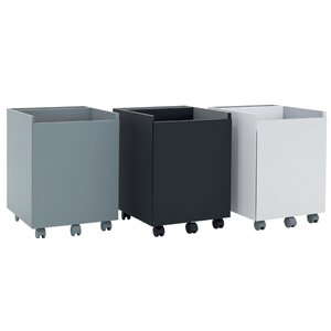 Niche 2-Drawer Mobile Vertical Filing Cabinet