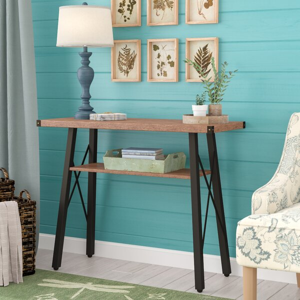 Randi Contemporary 2-Tier Console Table By Laurel Foundry Modern Farmhouse