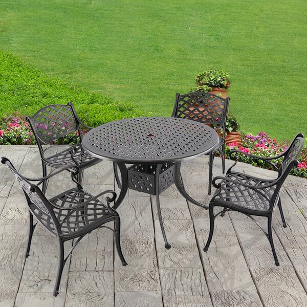 Smithy 5 Piece Dining Set by Charlton Home