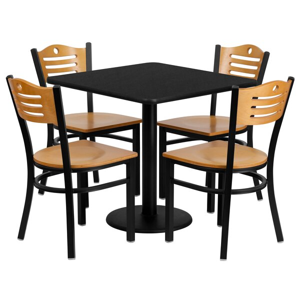 Sid 5 Piece Dining Set by Red Barrel Studio