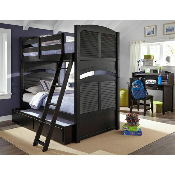 Crawfordville Twin over Twin Bunk bed by Harriet Bee