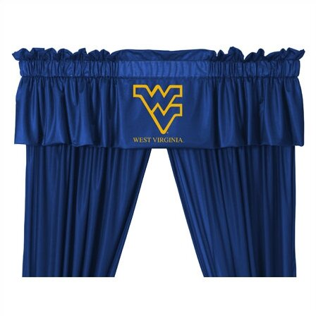 NCAA 88 West Virginia Mountaineers Curtain Valance by Sports Coverage Inc.