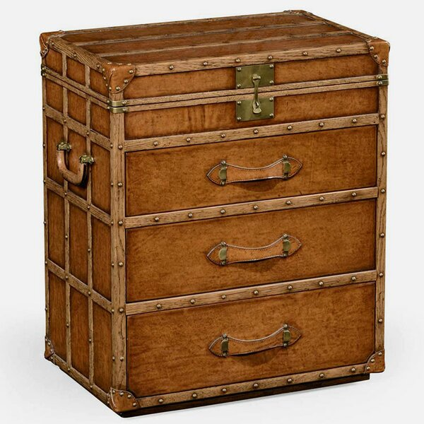 Trunk 3 Drawer Chest by Jonathan Charles Fine Furniture