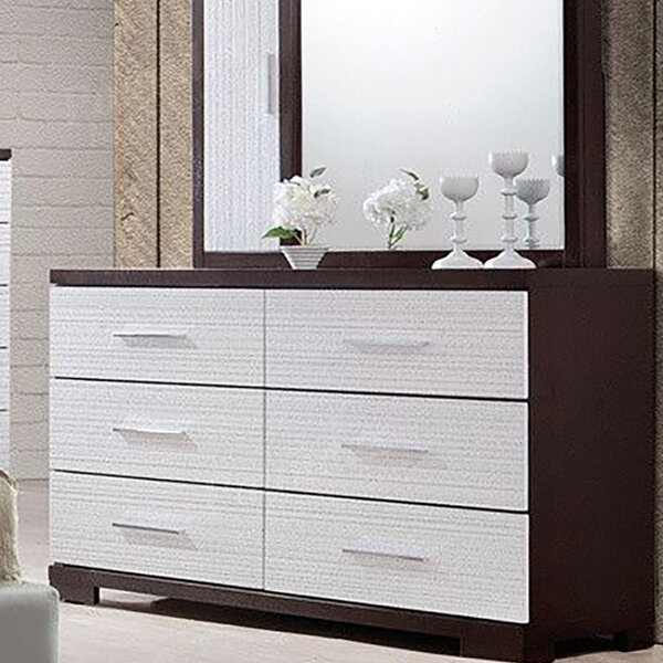 Meliton 6 Drawer Double Dresser by Orren Ellis