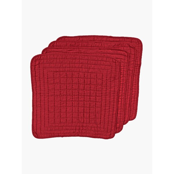 Quilted Placemat (Set of 4) by Textiles Plus Inc.