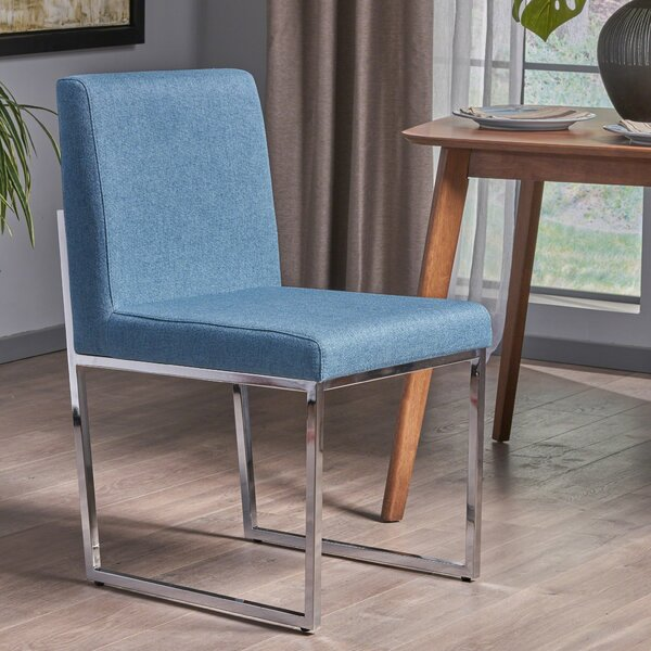 Hanneman Modern Upholstered Dining Chair by Orren Ellis