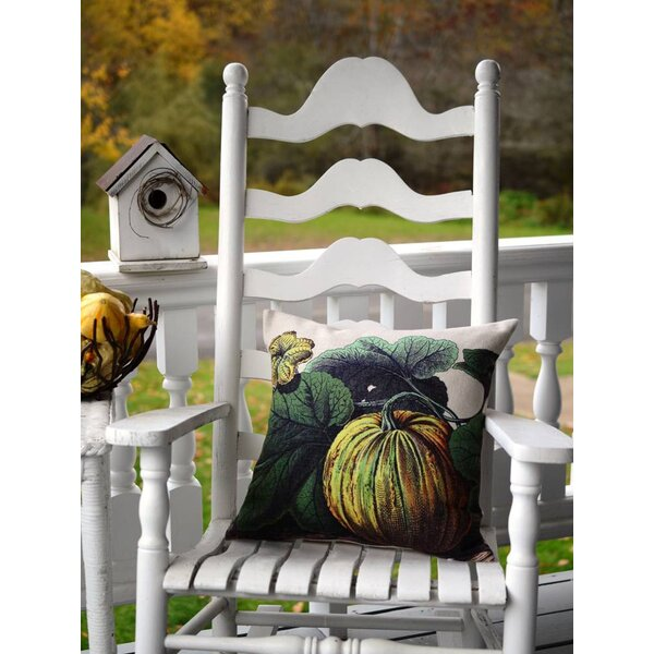 Pumpkin Throw Pillow by Golden Hill Studio