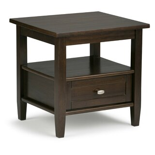 Alameda End Table with Storage by Alcott Hill SKU:AA318120 Guide