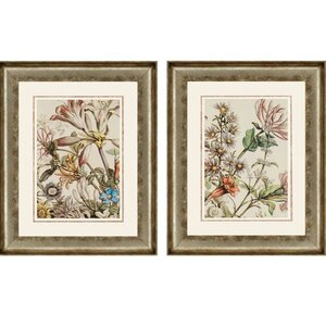 October Detail by Furber 2 Piece Framed Graphic Art Set by Paragon