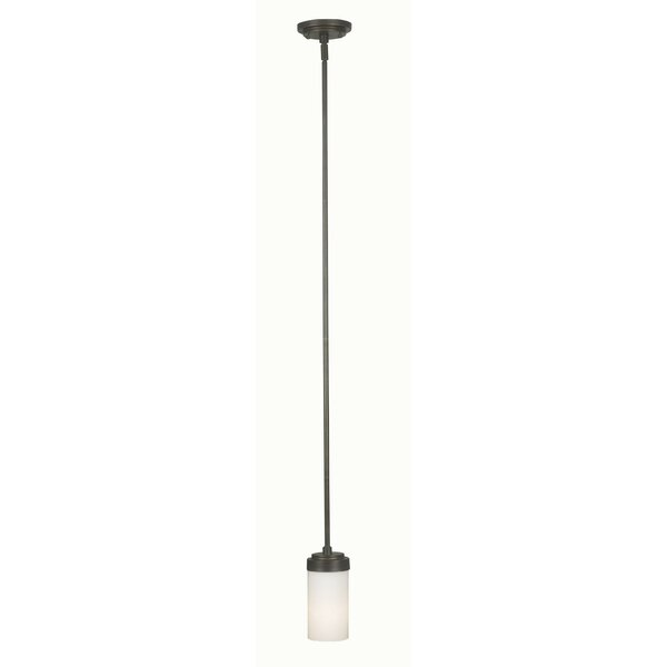 Margaret 1-Light Cylinder Pendant by Wildon Home ®