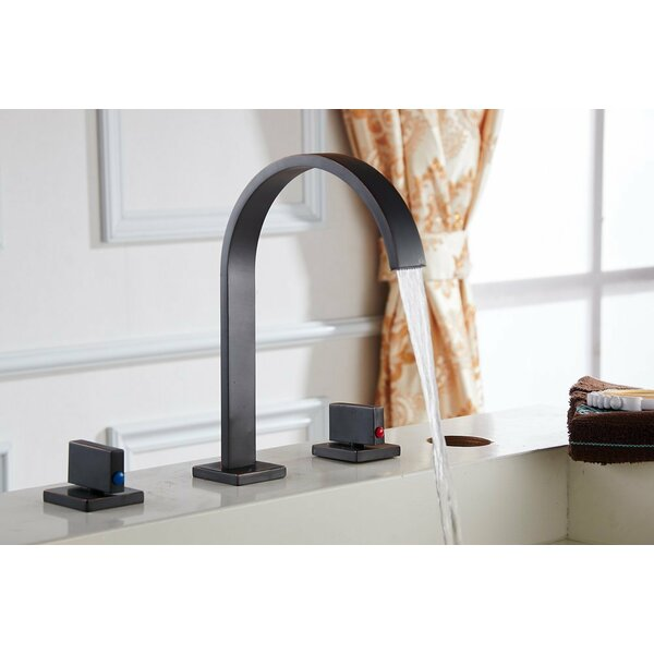 DFI Waterfall Widespread Bathroom Faucet by Aquafaucet