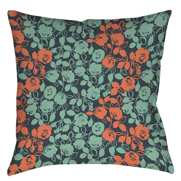 Anna Rose 5 Printed Throw Pillow by Manual Woodworkers & Weavers