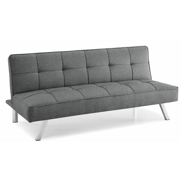 Silvey Convertible Sofa by Ebern Designs