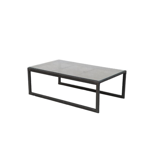 Stockholm Glass Coffee Table by Alcott Hill