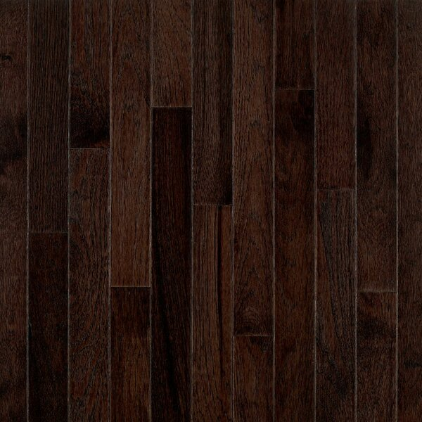 American Treasures 2-1/4 Solid Hickory Hardwood Flooring in Frontier Shadow by Bruce Flooring