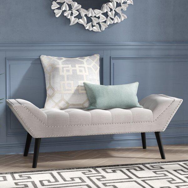Evgeniya Upholstered Bench by Willa Arlo Interiors