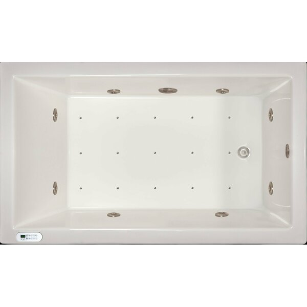 59.5 x 35.5 Whirlpool by Signature Bath