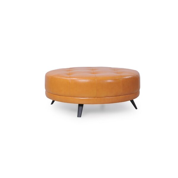 Brayden Studio Leather Ottomans