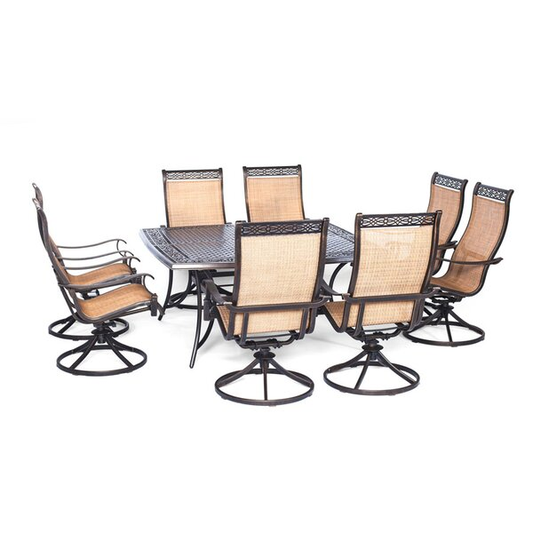 Barras 9 Piece Square Dining Set by Darby Home Co