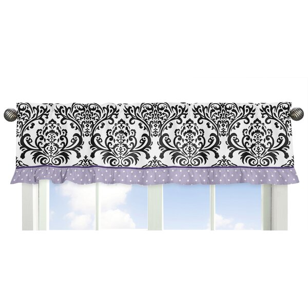 Sloane Polka Dot Ruffle Curtain Valance by Sweet Jojo Designs