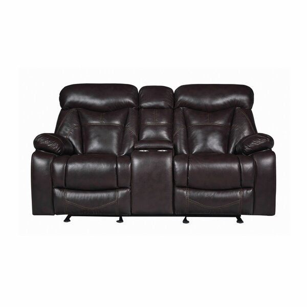 Home & Outdoor Breezeknoll Reclining Pillow Top Arms Loveseat