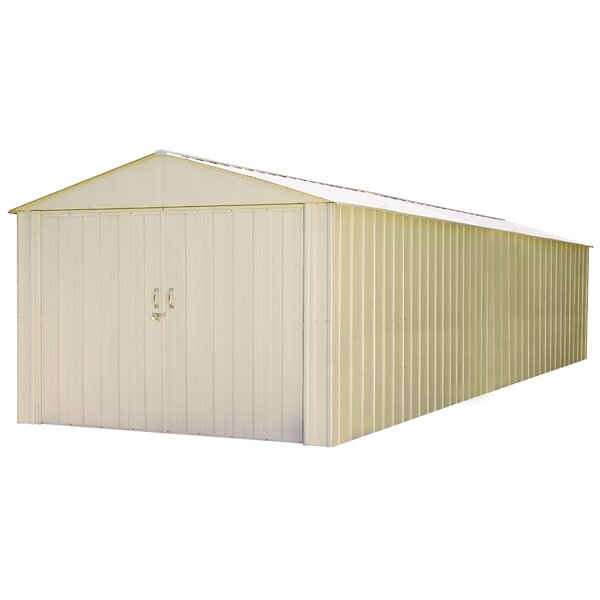 Commander 10 ft. W x 30 ft. D Vinyl-coated Steel Storage Shed by Arrow
