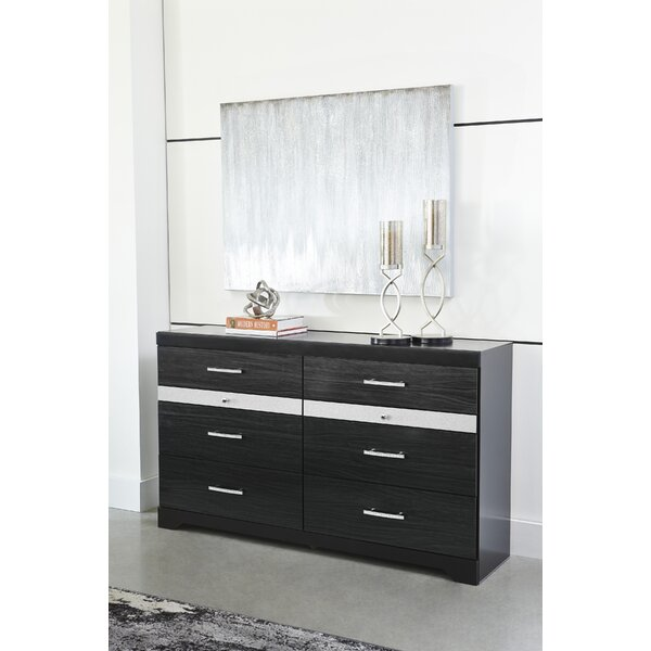 Halewood 6 Drawer Double Dresser by Orren Ellis