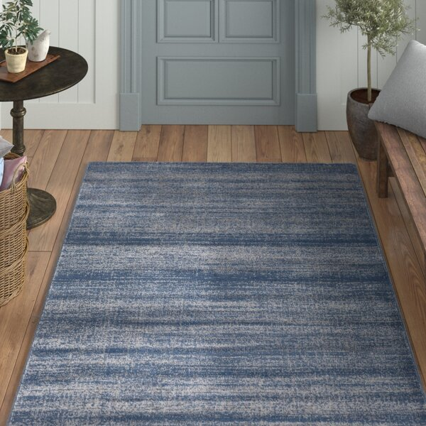 Myra Teal & Gray Area Rug by Laurel Foundry Modern Farmhouse