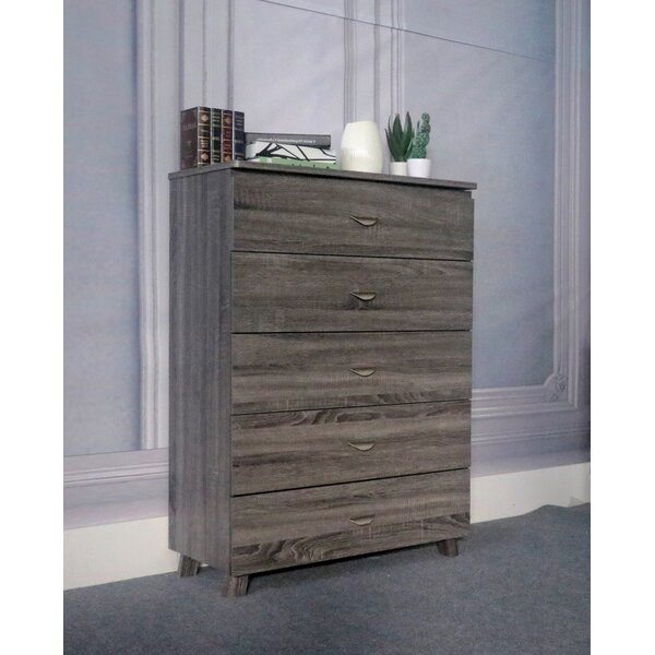 Evie-Grace 5 Drawer Chest by Latitude Run