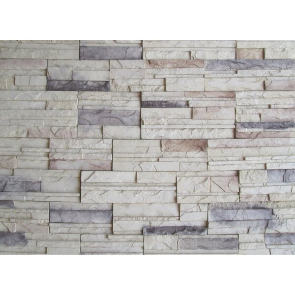 Cascade Mountain Random Sized Concrete Composite Rock Wall Tile in Calgary by Emser Tile