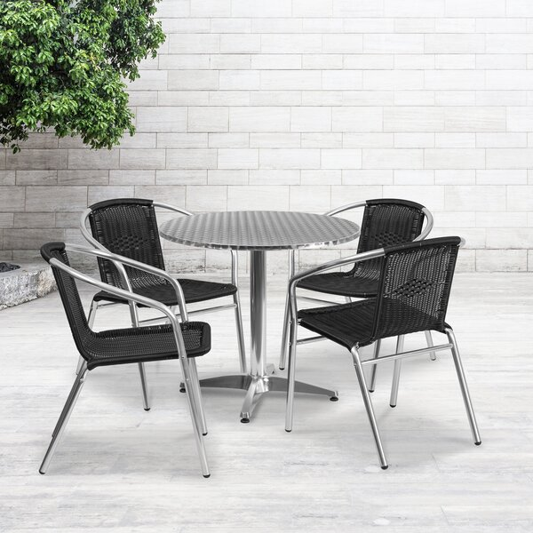 Eilers 5 Piece Dining Set by Red Barrel Studio