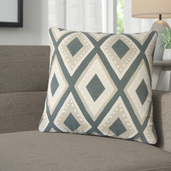 Amirah Geometric Cotton Throw Pillow (Set of 2) by Corrigan Studio