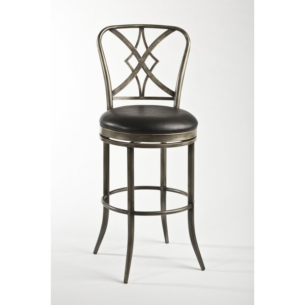 Jacqueline 30 Swivel Bar Stool by Hillsdale Furniture