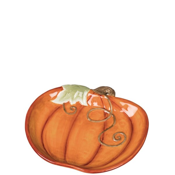 Nataly Pumpkin Platter (Set of 2) by August Grove